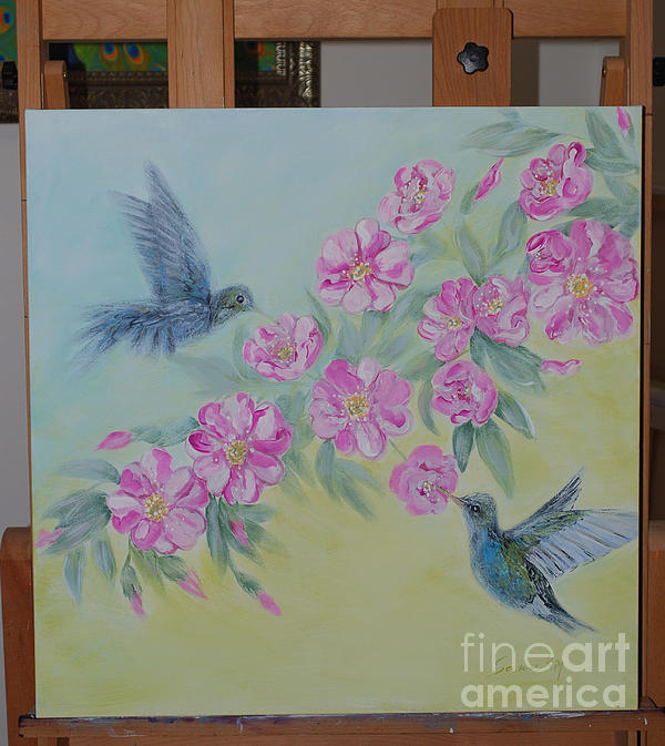 Oksana Semenchenko - Morning in my garden. Art and harmony in life