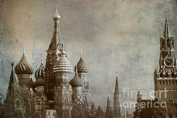 Moscow Print by Bernard Jaubert