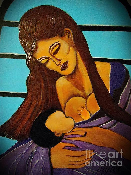 Saundra Myles - Mother and Child 2