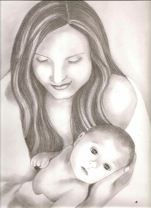 Bharati Subramanian - Mother And Child