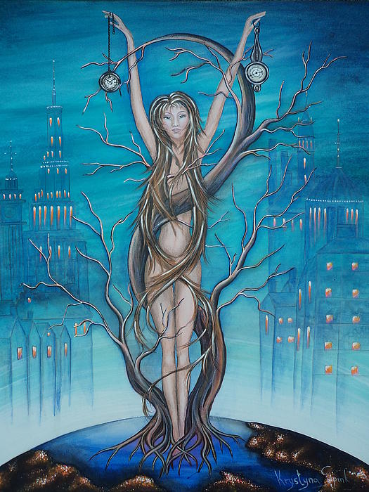 Mother Earth Print by Krystyna Spink