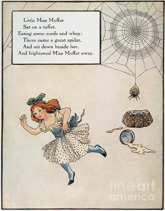 Mother Goose, 1915 Print by Granger