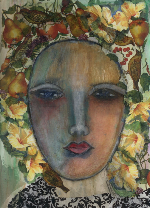 Mother Nature Print by Nancy TeWinkel Lauren