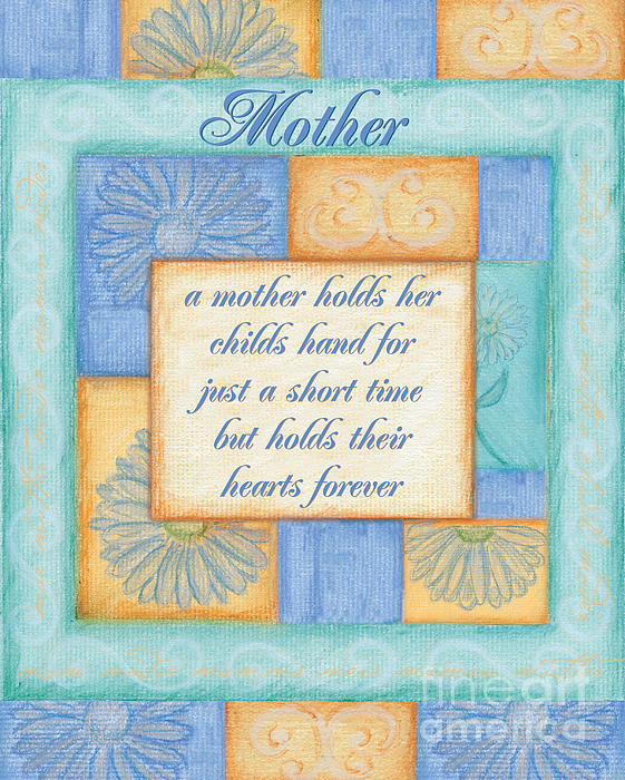 Mother's Day Spa Card Print by Debbie DeWitt