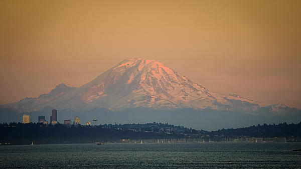 Ronda Broatch - Mount Rainier Sunset I I