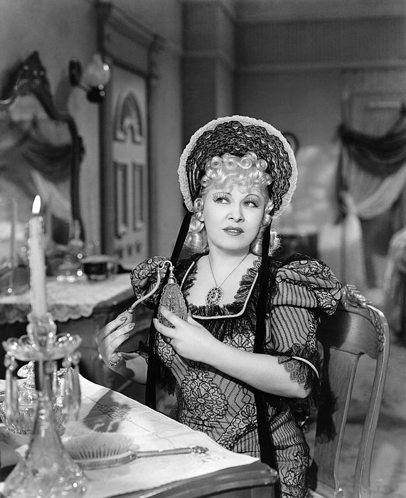 Movie Star Mae West Print by Underwood Archives