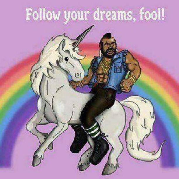 Denise Ruiz - Mr. T Says Follow Your Dreams Fool!