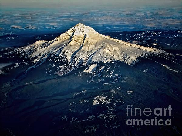 Mt Hood Print by Jon Burch Photography