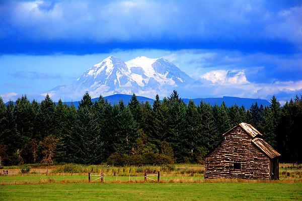 Randall Branham - Mt Rainier Barn
