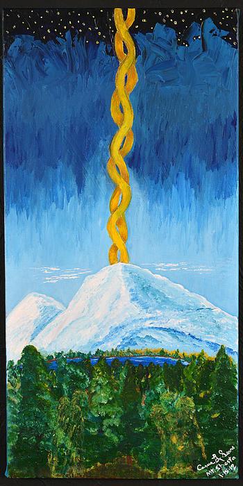 Mt. Shasta Print by Cassie Sears