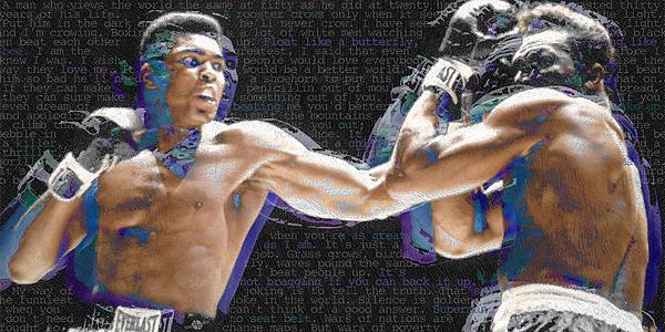 Muhammad Ali Print by Tony Rubino