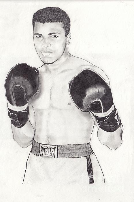 Muhammad Ali Print by Vincent Turner