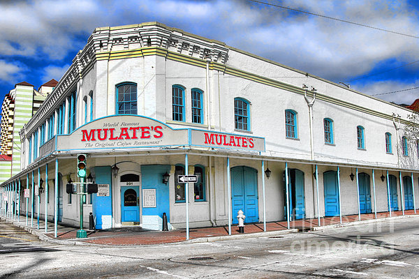 Mulates New Orleans Print by Olivier Le Queinec