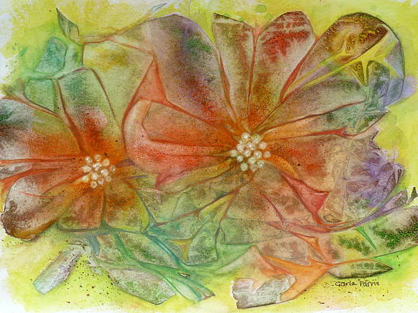 Carla Parris - Multi-colored Blossoms