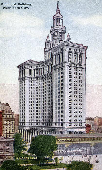 Municipal Building Print by Granger