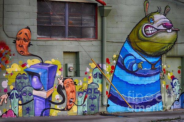 Mural - Wall Art Print by Liane Wright