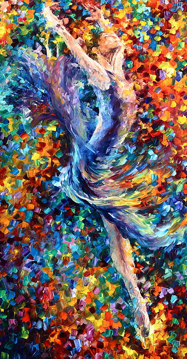 Music Flight Print by Leonid Afremov