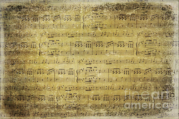 Music Is What Feelings Sound Like Print by Sylvia Cook