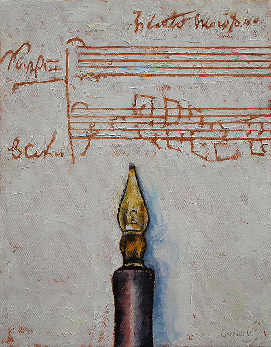 Music Print by Michael Creese