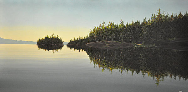 Muskoka Solitude Print by Kenneth M  Kirsch