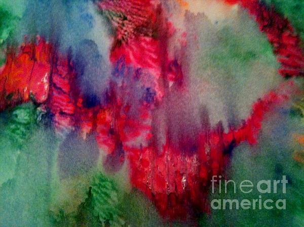 My Broken Heart Print by Maya Telford