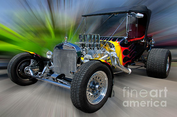 My Dream Ride Print by JohnD Smith