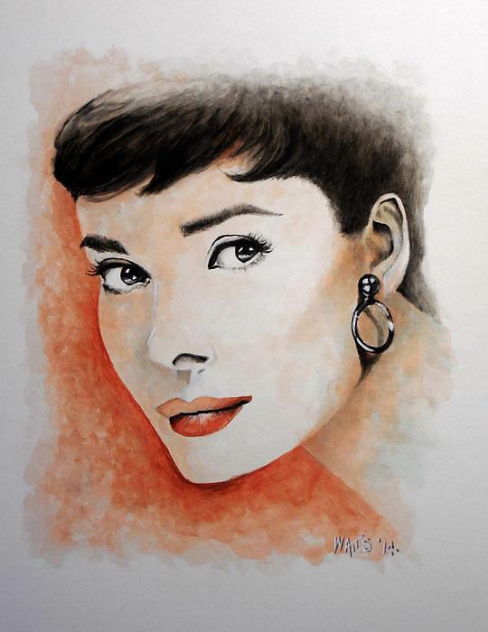 My Fair Lady - Audrey Hepburn Print by William Walts