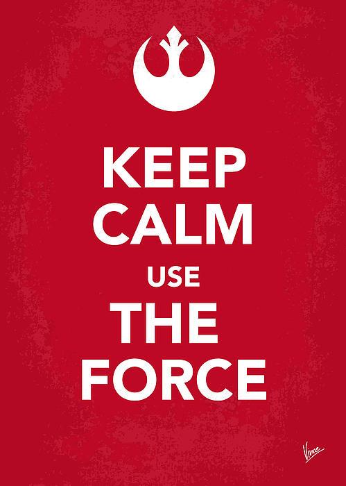 My Keep Calm Star Wars - Rebel Alliance-poster Print by Chungkong Art