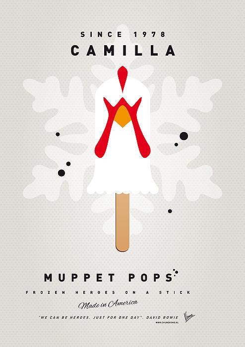 My Muppet Ice Pop - Camilla Print by Chungkong Art
