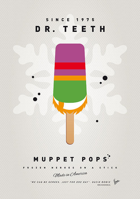 My Muppet Ice Pop - Dr Teeth Print by Chungkong Art