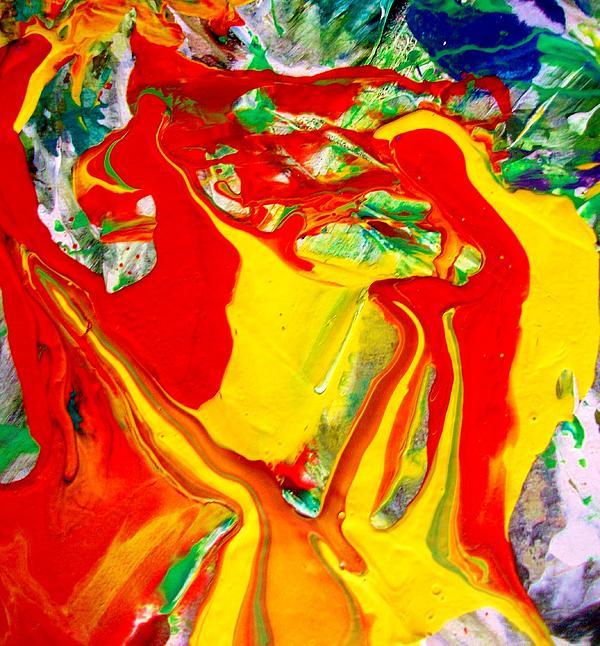 My Paintings Scream Print by Bruce Combs - REACH BEYOND