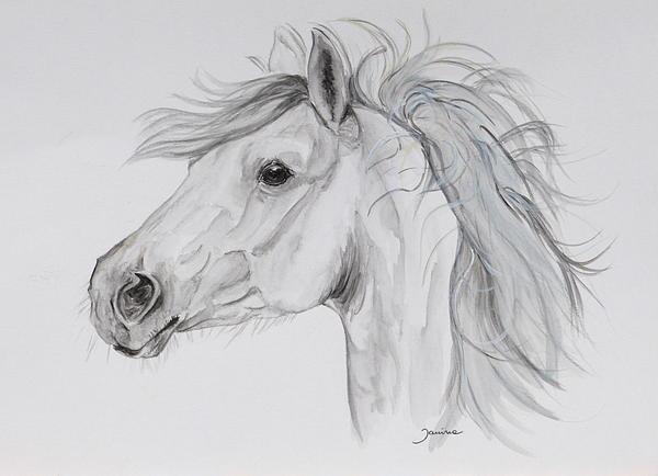 My Pony Print by Janina  Suuronen