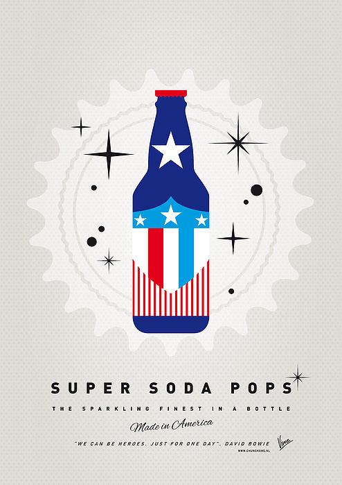 My Super Soda Pops No-14 Print by Chungkong Art