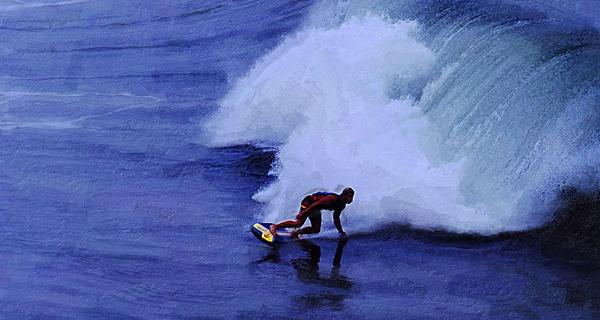 My Wave Print by Ron Regalado