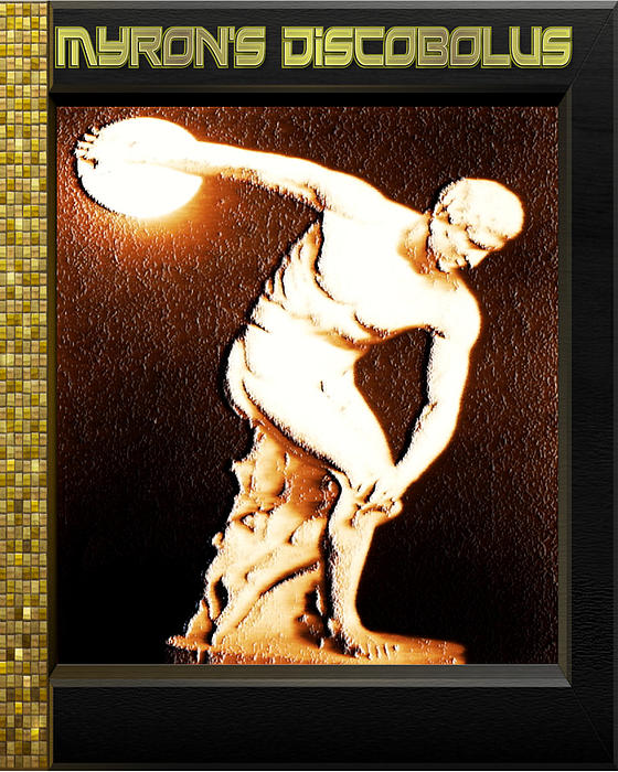 Myron's Diskobolus Print by Museum Quality Prints -  Trademark Art Designs