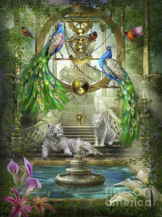 Mystic Garden Print by Ciro Marchetti