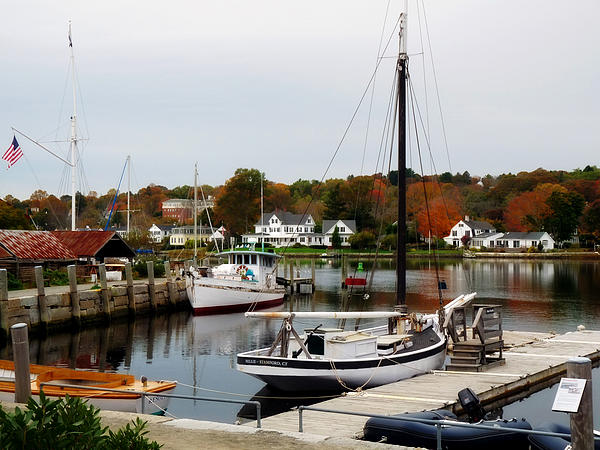 Mystic Seaport II by Terry Eve Tanner