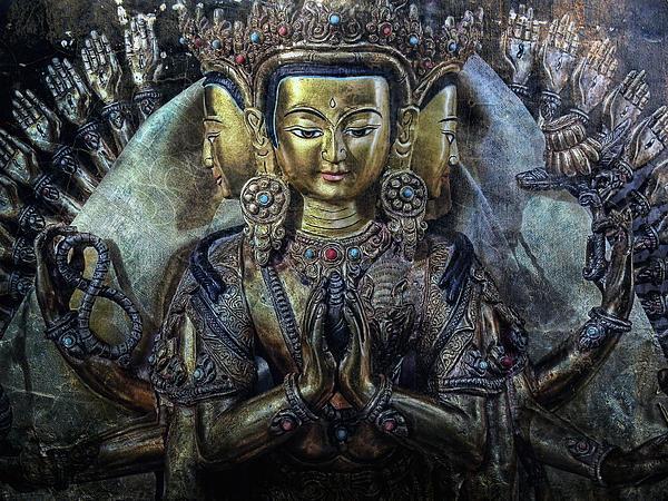 Mystical India Print by Joachim G Pinkawa
