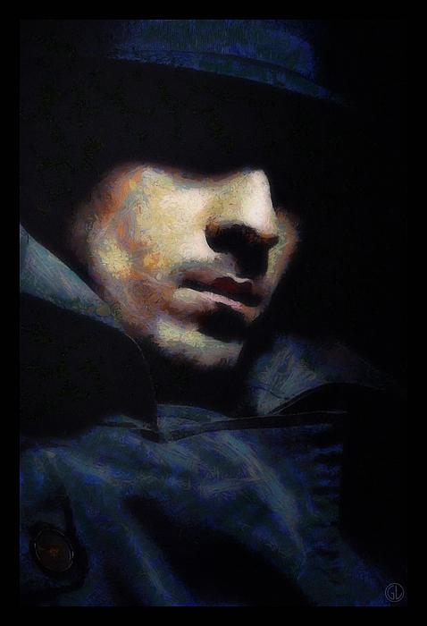 Mystical Man Print by Gun Legler