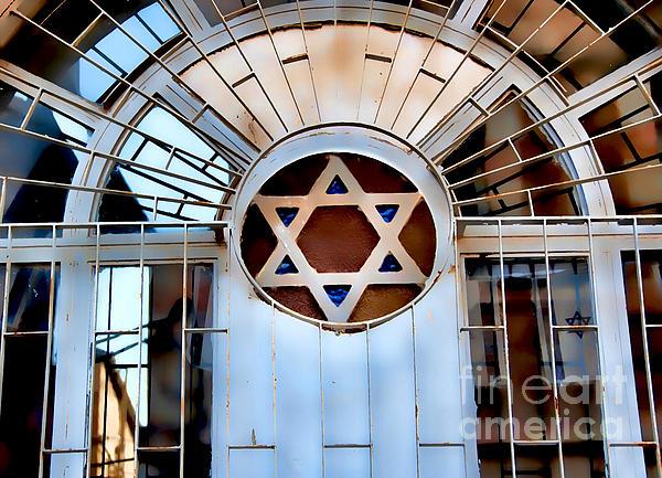 Nachlaot Synagogue Print by Elena Comens