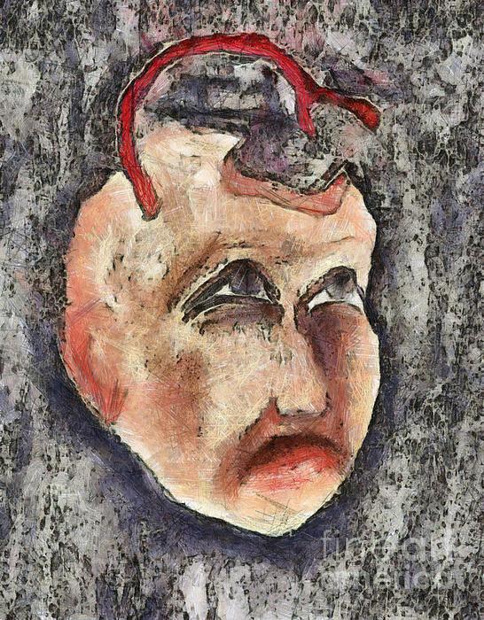 Nagging Doubts Print by Michal Boubin