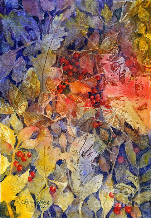 Cynthia Roudebush - Nandina and Other Fall Foliage