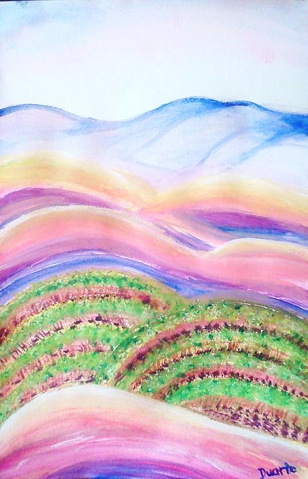 Napa Valley Print by Carol Duarte