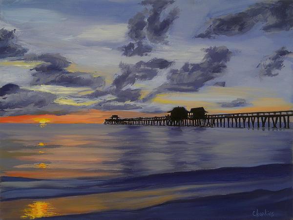 Christine Hopkins - Naples Pier Naples Florida