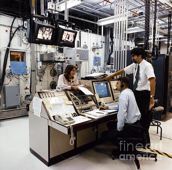 Nasa Research 1996 Print by Granger