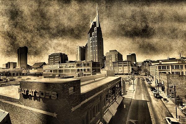 Nashville Grunge Print by Dan Sproul