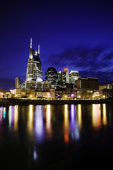 Nashville Skyline Print by Lucas Foley