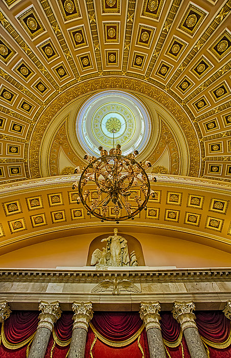 National Statuary Hall Print by Susan Candelario