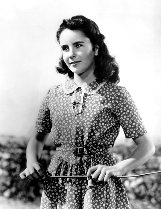 national velvet elizabeth taylor 1944 by everett