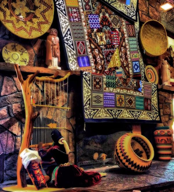 native american pottery and crafts greeting card for sale. Black Bedroom Furniture Sets. Home Design Ideas